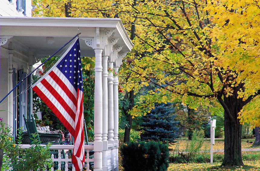 Residential American Flags and Flagpoles
