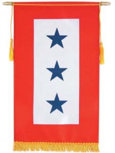 Military Service Banner, Blue Star Mom Banner, THE Flag Company of California